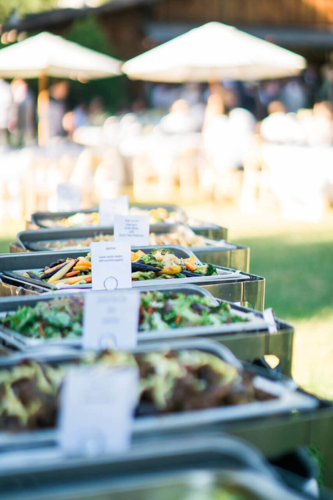 wedding catering in the San Francisco Bay Area